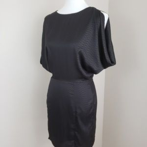 Ark & Co Black Open Back Dress